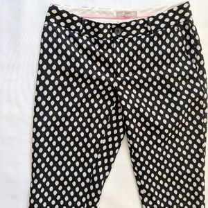 Banana Republic Polka Dot Crop Dress Pants, Size 2